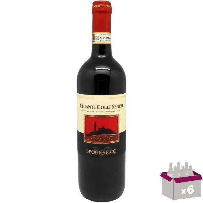 Geografico Chianti Colli Senesi - Vin rouge d'Italie