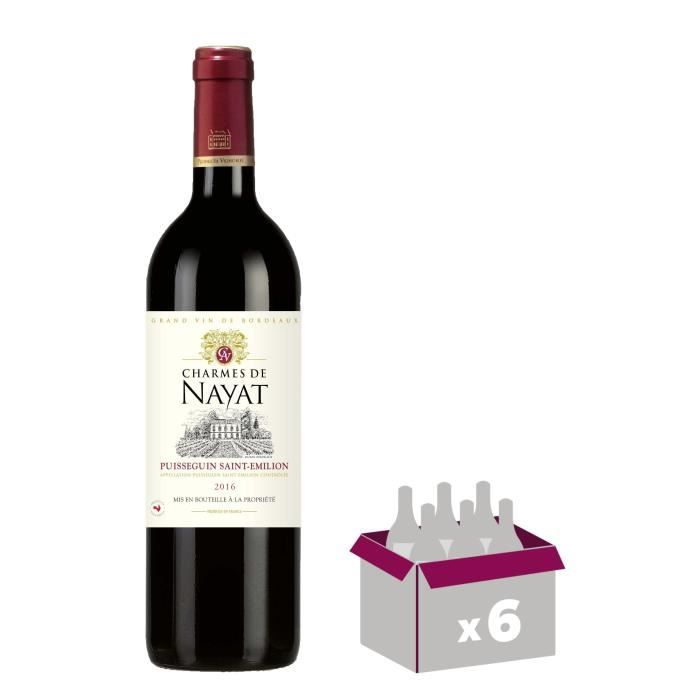 Les Charmes de Nayat 2016 - Vin rouge du Bordelais