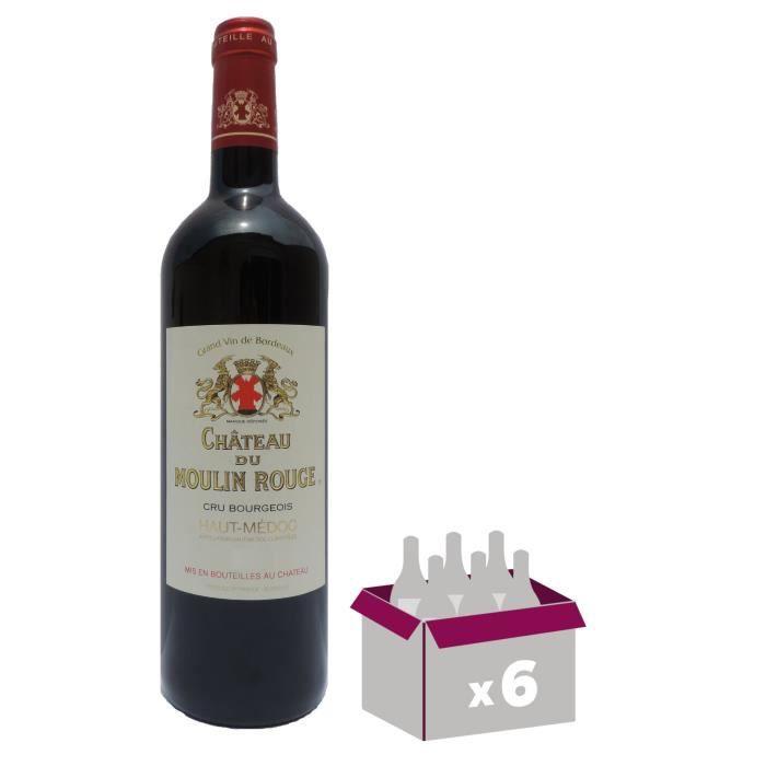Château DU MOULIN Rouge 2016 Cru BouRougeeois Haut-Médoc - Vin Rouge du Bordelais