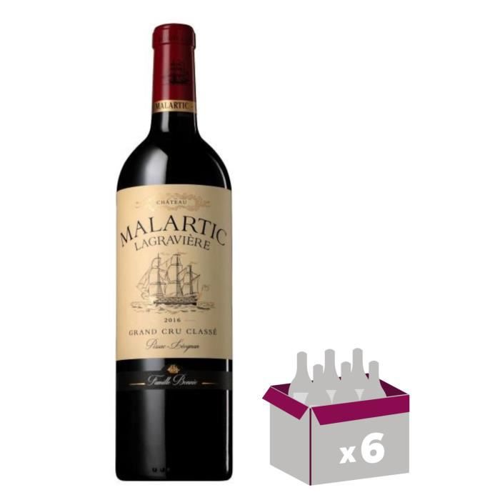 Château Malartic Lagravière 2016 Pessac-Léognan - Vin Rouge - 75 cl