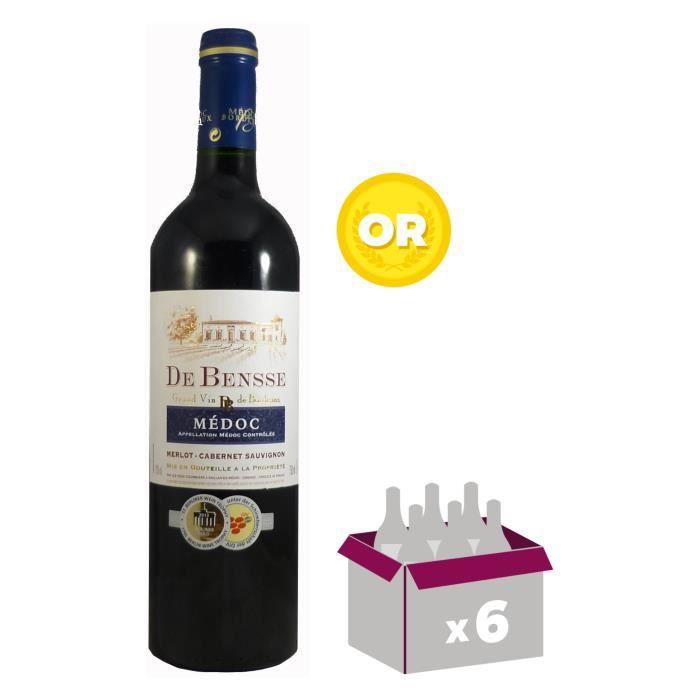 Médoc de Bensse 2016 Médoc - Vin rouge du Bordelais