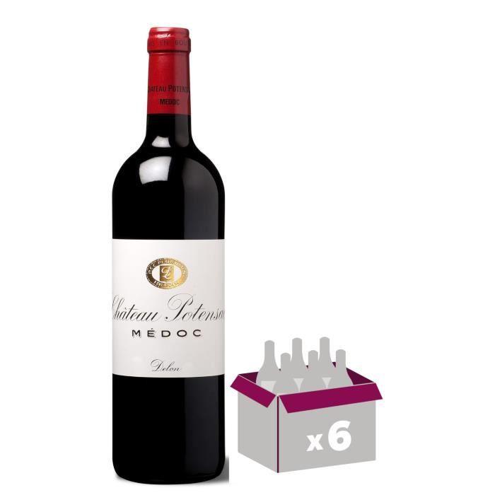 Château POTENSAC 2016 Cru BouRougeeois Médoc - Vin Rouge du Bordelais