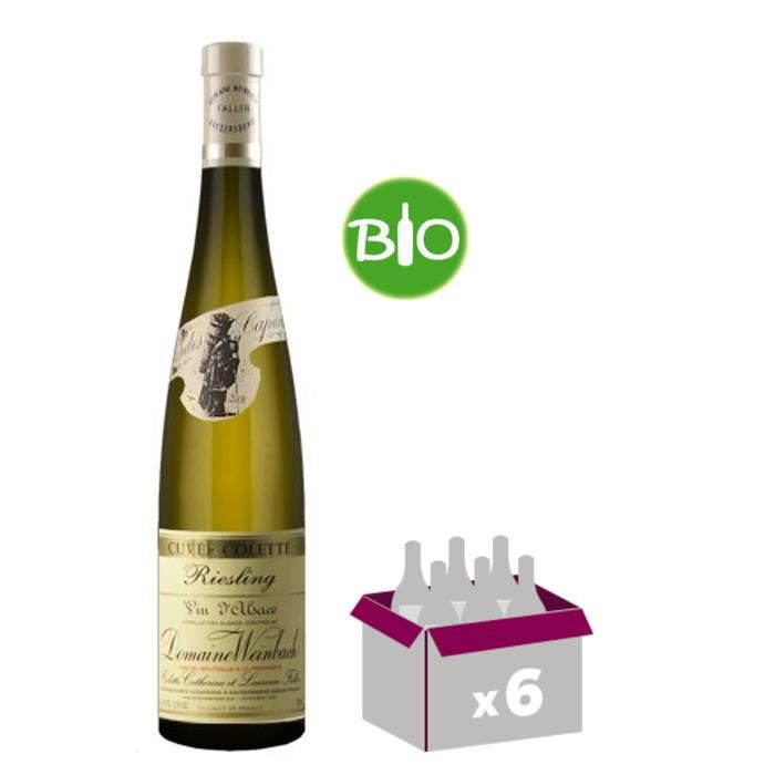 DOMAINE WEINBACH 2016 - Riesling - Vin Blanc - 75 cl x6