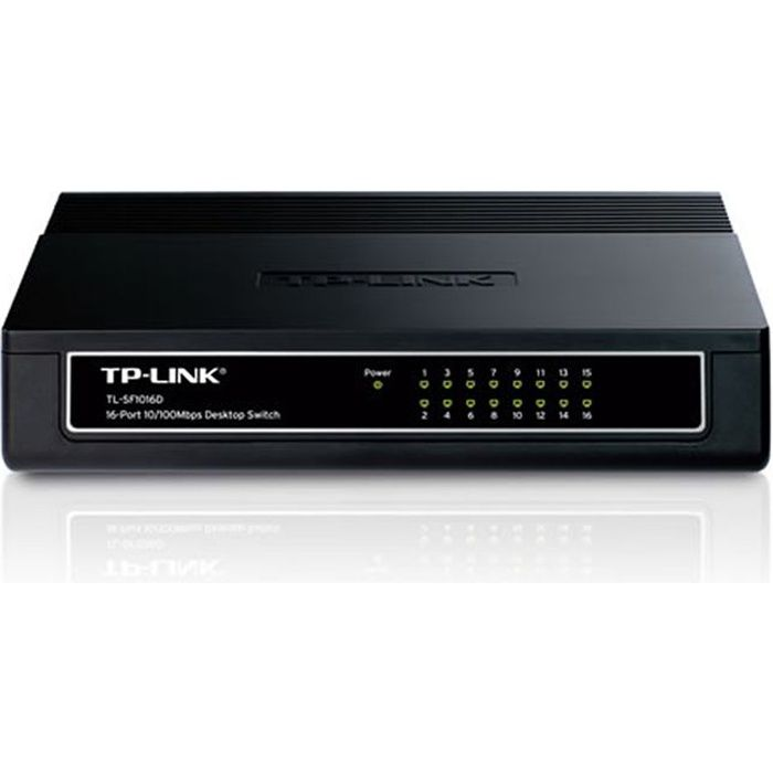 TP-LINK Switch 16 PORTS 10/100 SF1016D