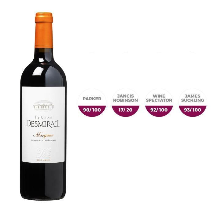Magnum Château Desmirail 2016 Margaux - Vin Rouge de Bordeaux