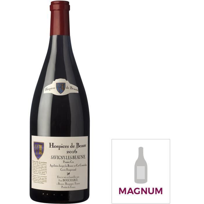 Magnum Jean Bouchard Cuvée Fouquerand 2016 Savigny-Les-Beaune 1er Cru - Vin rouge de Bourgogne