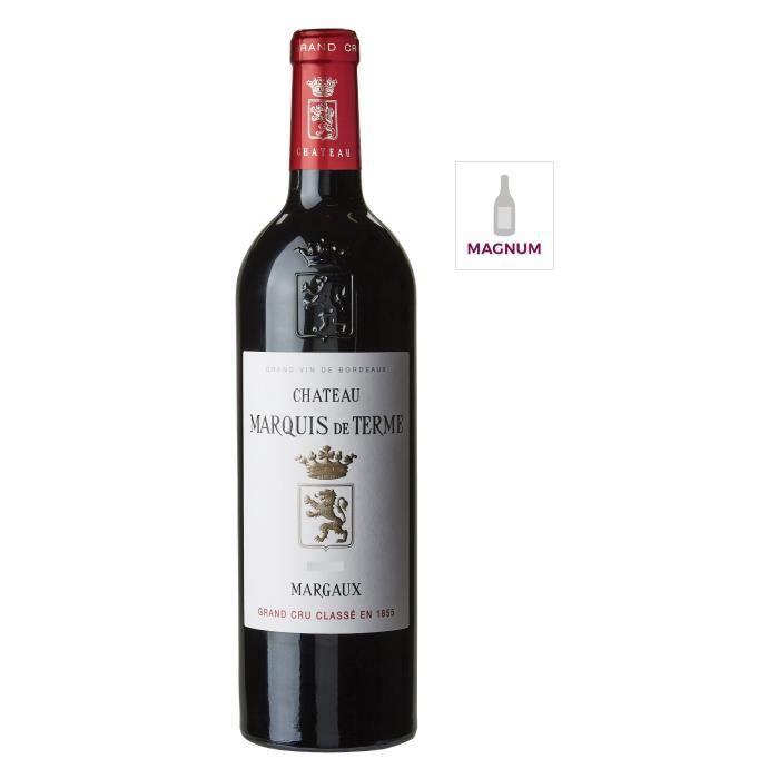 Château Marquis de Terme 2016 Margaux Grand Cru - Vin rouge de Bordeaux en Magnum 150cl