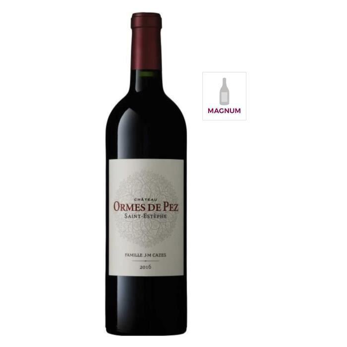 MAGNUM Château Les Ormes de Pez 2016 Saint Estèphe - Vin rouge de Bordeaux