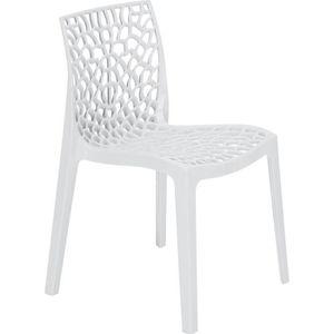 FAUTEUIL JARDIN  GREEN BOHEME chaise de jardin Gruvyer - En polypro