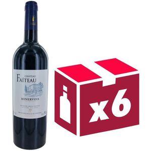 VIN ROUGE Château Faiteau 2015 Minervois - Vin rouge du Lang