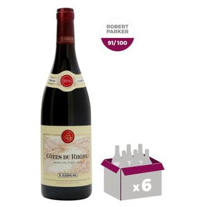 VIN ROUGE E. Guigal 2016 Côtes-du-Rhône - Vin rouge du Vallé