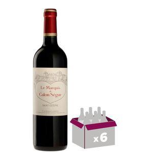 VIN BLANC MARQUIS DE CALON  2016 Second Vin Saint Estèphe -