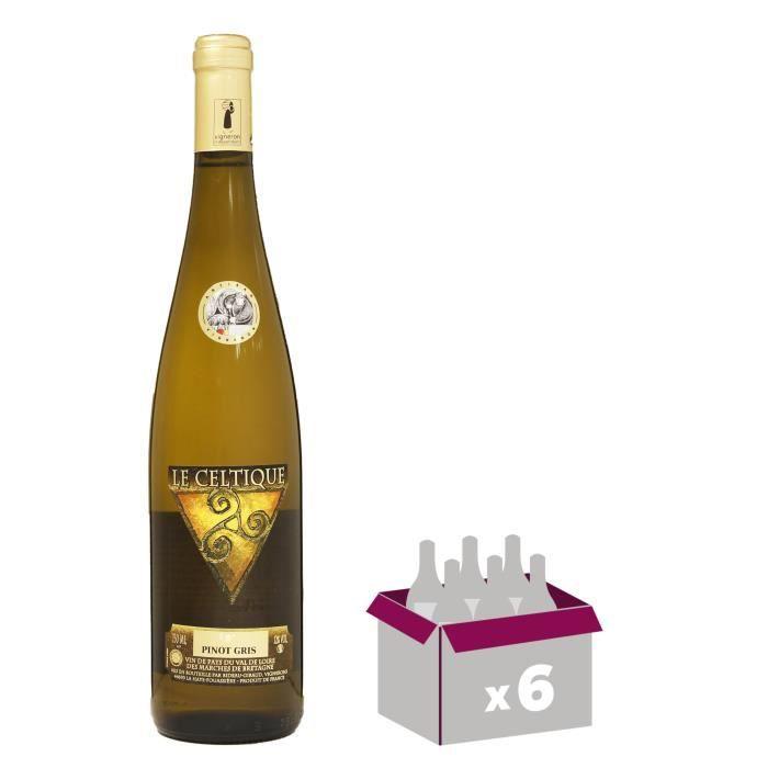 VIN BLANC Le Celtique 2016 Pinot Gris - Vin blanc du Val de