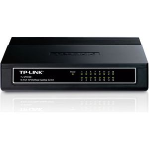 SWITCH - HUB ETHERNET  TP-LINK Switch 16 PORTS 10/100 SF1016D