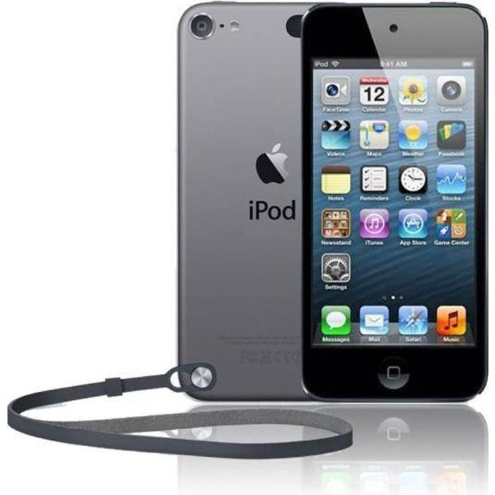 apple ipod touch 16go gray achat vente lecteur mp4. Black Bedroom Furniture Sets. Home Design Ideas