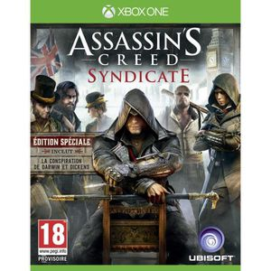 JEU XBOX ONE Assassin's Creed Syndicate Edition Spéciale Jeu Xb