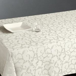 nappe blanche table rectangulaire achat vente nappe blanche table rectangulaire pas cher. Black Bedroom Furniture Sets. Home Design Ideas
