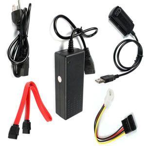 CÂBLE E-SATA Adaptateur Convertisseur HDD USB 2.0 vers IDE SATA