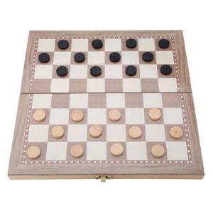 ASSEMBLAGE CONSTRUCTION Jouet d'échecs pliant portable  Jeu de table de vo