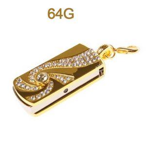CLÉ USB 64 go clé usb en métal-étanche-haute vitesse mémoi