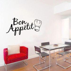 STICKERS Bon Appétit Alimentaire Stickers Muraux Cuisine Ch