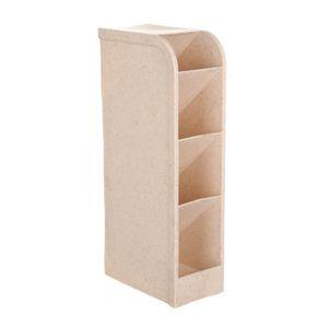 BOITE DE RANGEMENT 4 Compartiment Boîte de rangement cosmétiques Sous