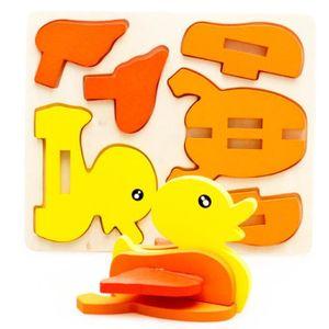 PUZZLE Puzzle montessori mini 3d puzzle enfants jouet édu