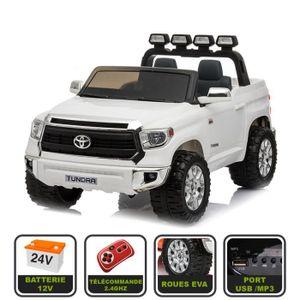 VOITURE ELECTRIQUE ENFANT 4x4 électrique XXL 24V pour enfant Toyota Tundra C