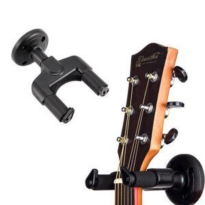 Mugig Support Mural pour Guitare Bass Mandoline Banjo-Plus S/ûr avec Verrouillage Automatique M/écanisme
