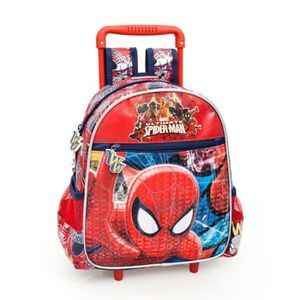 SAC À DOS Trolley sac a dos Maternelle Spiderman
