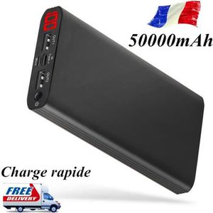 BATTERIE EXTERNE DIRUNOU®50000mAh Batterie externe à chargement rap