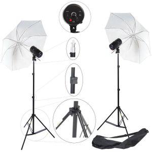 KIT STUDIO PHOTO DynaSun Kit 2x CY100KIT 100W Kit Éclairage Barebul