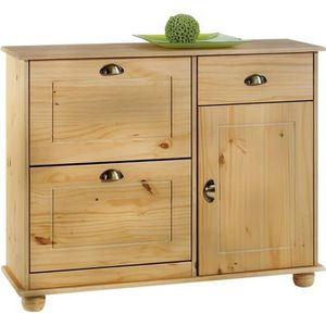 meuble a chaussures en pin achat vente meuble a. Black Bedroom Furniture Sets. Home Design Ideas
