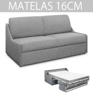 CANAPÉ - SOFA - DIVAN Canapé lit ESPRESSO rapido compact 140cm matelas 1
