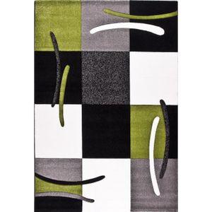TAPIS JAZZ Tapis de salon 120x170 cm Vert