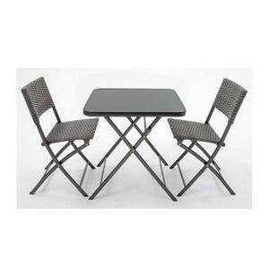 Table kettler pliante