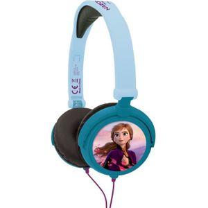 CASQUE AUDIO ENFANT LEXIBOOK - La Reine des Neiges - Casque Audio Stér