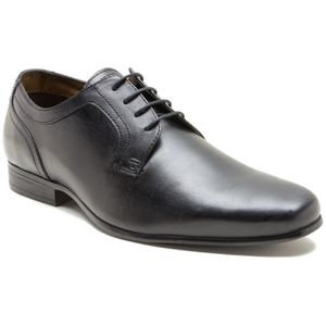DERBY Red Tape Hammes Coley Noir Plain Vamp Gibson Cuir