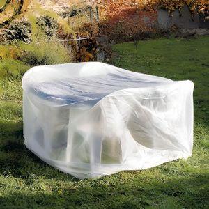 TABLE DE JARDIN  Housse de protection table ronde diamètre 170 cm