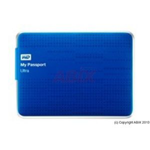 Disque dur externe sans SSD WESTERN DIGITAL MY PASSPORT ULTRA WDBZFP0010BBL BLEU 1TO