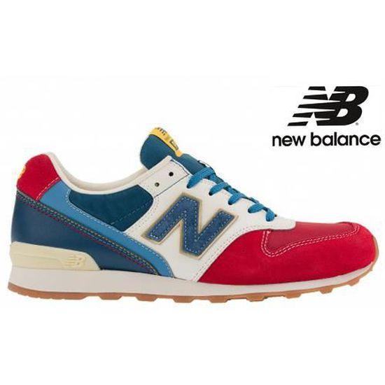 new balance femme bleu blanc rouge