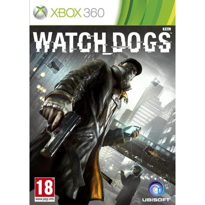 watch dogs jeu xbox 360 achat vente jeux xbox 360 watch dogs jeu xbox 360 cdiscount. Black Bedroom Furniture Sets. Home Design Ideas