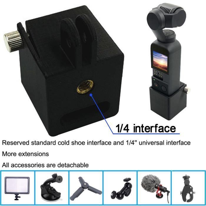 Trépied Titulaire Tête Montage 1-4 Vis Adaptateur Support De Caméra Pour DJI Osmo Pocket LIY81224002_769