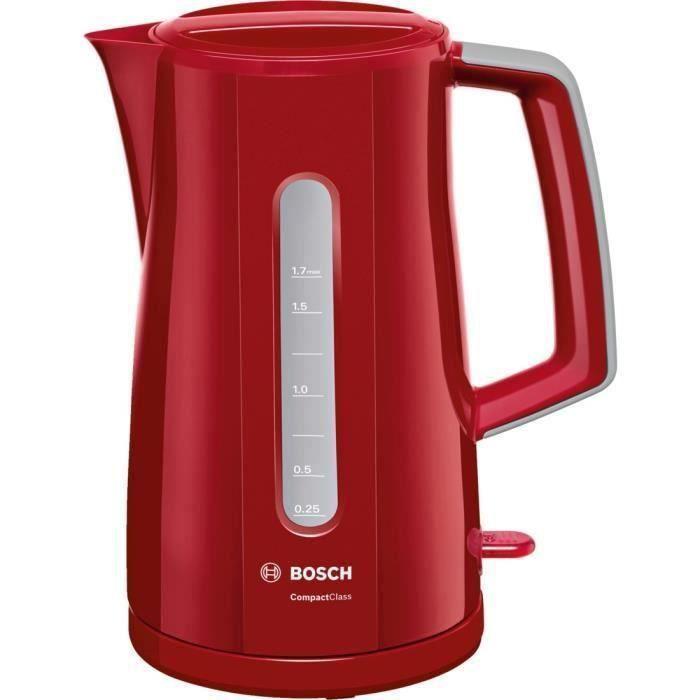 BOSCH TWK3A014 Bouilloire électrique CompactClass - Rouge