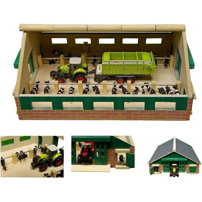 Kids Globe Grange de vache de ferme 1:87