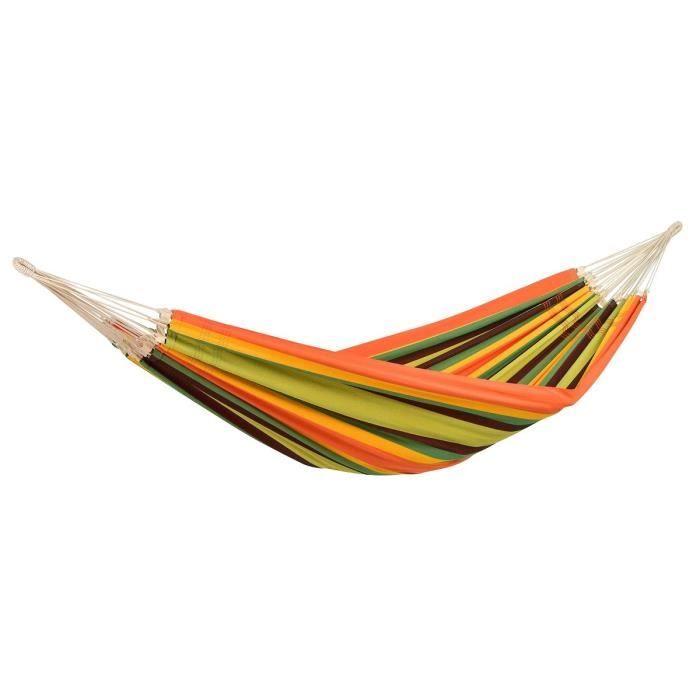 AMAZONAS Hamac Barbados acerola XL - 230x150cm - Multicolore