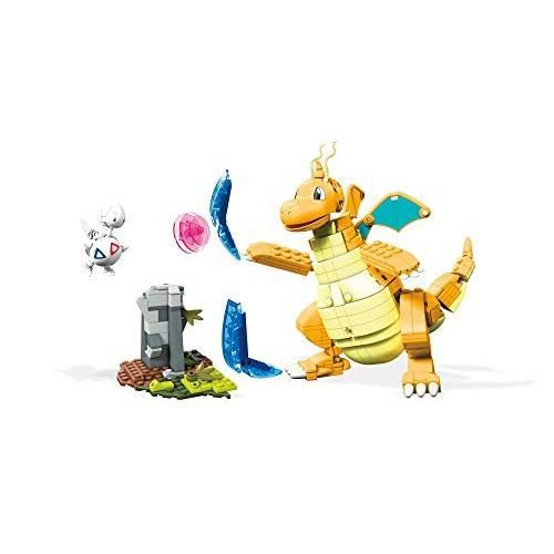 Mega Construx Pokemon Combat Dracolosse contre Togetic, jeu de construction, 488 pièces, pour enfant dès 8 ans, FVK75 FVK75