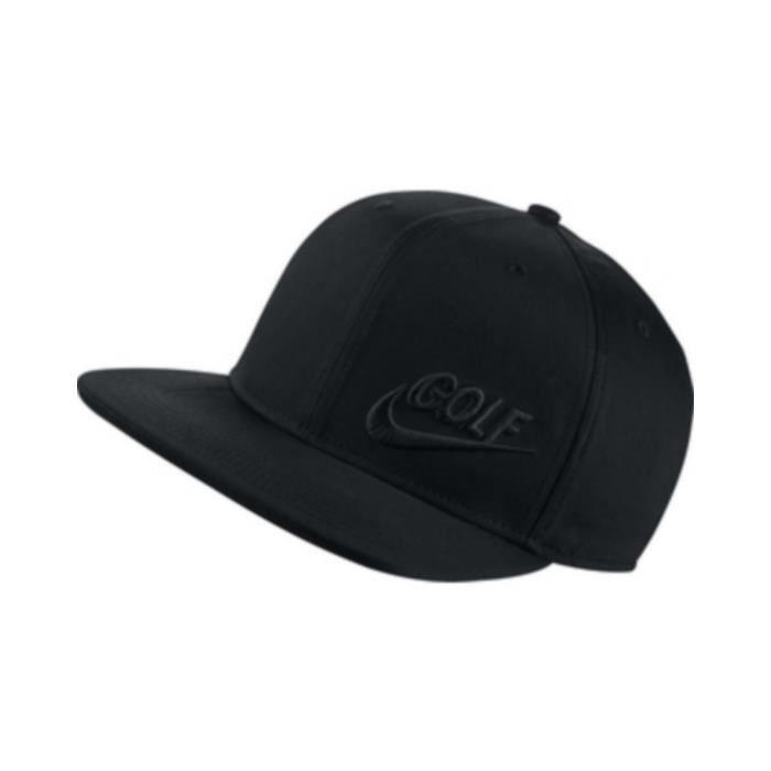 Casquette Nike Golf Noir Homme