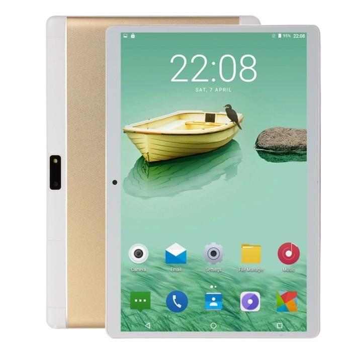 10,1 pouces 1 Go + 16 Go pour ordinateur portable 3G Appel téléphonique Android Quad Core Android Tablet Pc Wifi Téléphone