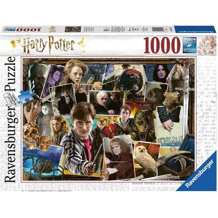 HARRY POTTER Puzzle 1000 pièces - Harry Potter contre Voldemort - Ravensburger - Puzzle adultes - Dès 14 ans